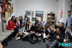 Ultima echipă PRIME din care Bianca a făcut parte, board & coordonatori 2019